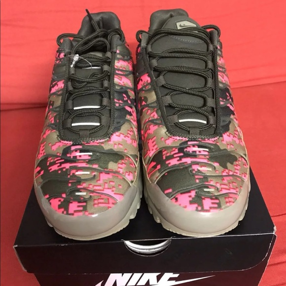 Nike Other - Nike Air Max Plus Digi Camo Olive For Me